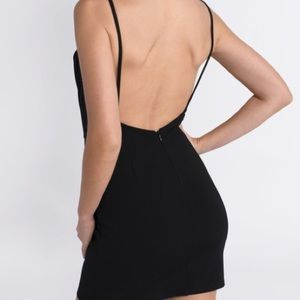 Tobi Dresses - Tobi Sadie black bodycon formal dress